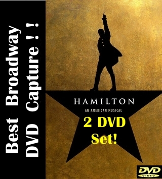 Hamilton Musical DVD Broadway 2015 Lin Manuel Miranda