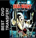 Hell Night DVD 1981 Linda Blair