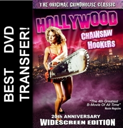 Hollywood Chainsaw Hookers DVD 1988