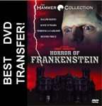 Horror Of Frankenstein DVD 1970