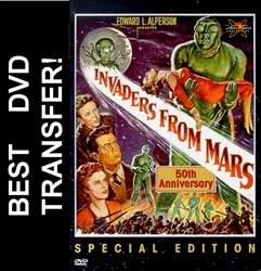 Invaders From Mars DVD 1953 Helena Carter