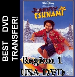 Johnny Tsunami DVD 1999 R1 USA Brandon Baker