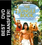 The Jungle Book DVD 1994