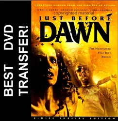 Just Before Dawn DVD 1981