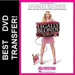 Legally Blonde The Musical DVD 2007