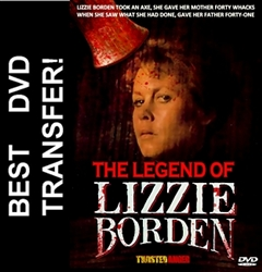 The Legend Of Lizzie Borden DVD 1975