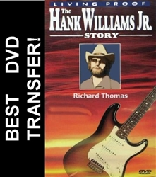 Living Proof The Hank Williams Jr Story DVD 1983