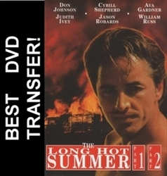 The Long Hot Summer DVD 1985 Don Johnson Cybill Shepherd TV Movie