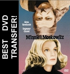 Minnie And Moskowitz DVD 1971