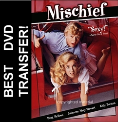 Mischief DVD 1985 Kelly Preston Doug McKeon