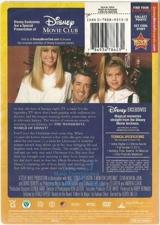 A Mom For Christmas DVD 1990 Olivia $7.99 BUY NOW RareDVDs.Biz
