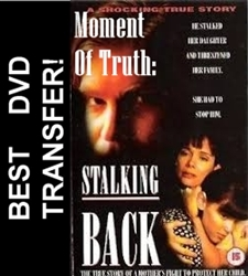 Moment Of Truth Stalking Back DVD 1993 Shanna Reed