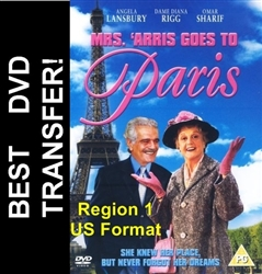 Mrs. Arris Goes To Paris DVD 1992