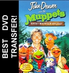 Muppets John Denver Christmas Rocky Mountain Holiday DVD 1983