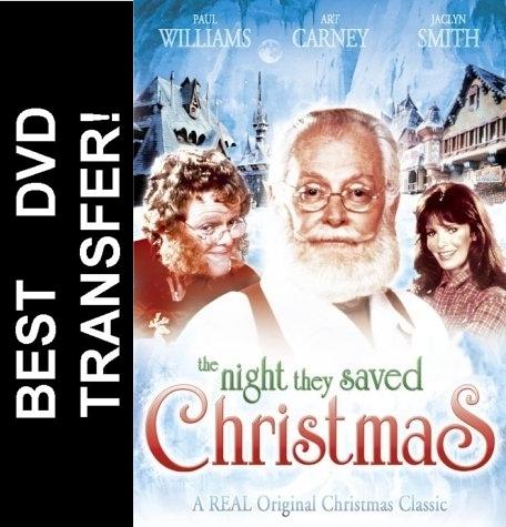 The Night They Saved Christmas DVD 1984 $7.99 BUY NOW RareDVDs.Biz
