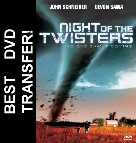 Night Of The Twisters DVD 1996 $8.99 BUY NOW - RareDVDs.Biz