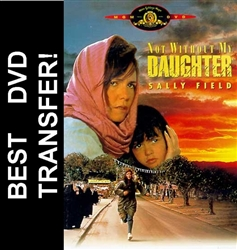 Not Without My Daughter with Sally Field on DVD 1991