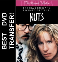 Nuts DVD 1987 Barbara Streisand