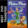 Peter Pan DVD 1960