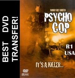 Psychocop Psycho Cop DVD 1989 Robert Shafer