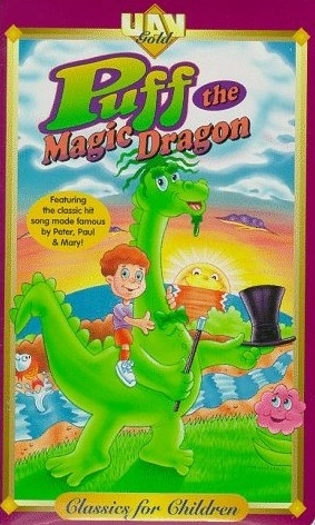 puff the magic dragon dvd 1978 burgess meredith animated