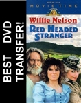 Red Headed Stranger DVD 1986 Willie Nelson