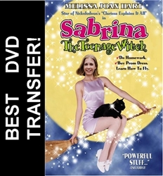 Sabrina The Teenage Witch Movie DVD 1996 Melissa Joan Hart