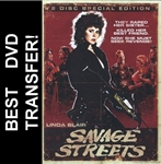 Savage Streets DVD 1984 Linda Blair