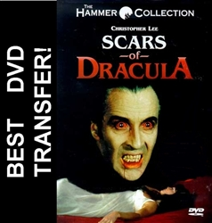 Scars Of Dracula DVD 1970