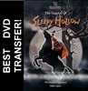 The Legend Of Sleepy Hollow DVD 1999