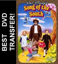 Disney Song of the South Vintage Film on DVD 1946