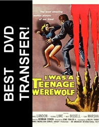 I Was A Teenage Werewolf DVD 1957 Michael Landon
