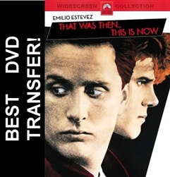 That Was Then This Is Now DVD 1985