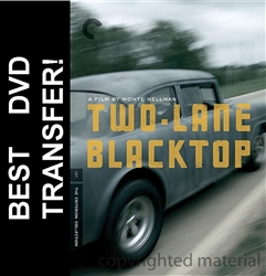 Two Lane Blacktop DVD 1971