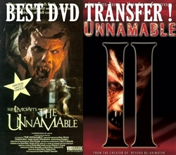 The Unnamable & 2 II DVD 1988 and 1992