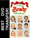 A Very Brady Christmas DVD 1988