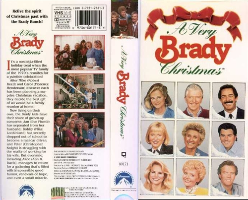 A Very Brady Christmas DVD 1988 $7.99 BUY NOW RareDVDs.Biz