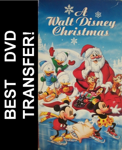 a walt disney christmas dvd 1982 - A Walt Disney Christmas Dvd