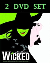 Wicked The Musical DVD Broadway 2007 & Atlanta 2006 2 DISC SET