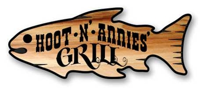 PERSONALIZED CARVED WOOD FISH SIGNS