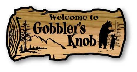 Welcome To The Lake Engraved Wooden Sign
