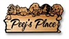 PUPPIES RUSTIC WELCOME SIGN