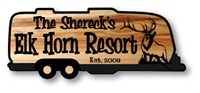 PERSONALIZED WOOD SIGN - TRAILER