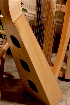 roosebeck lacewood heather harp