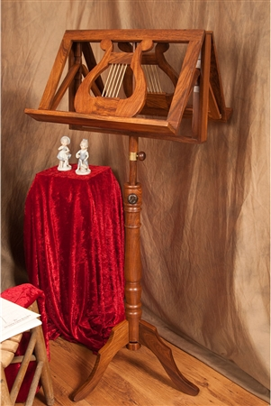 EMS Regency Wooden Music Stand, Double