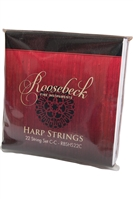 Roosebeck Heather Harp Set, 22 Strings, C-C
