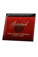 ROOSEBECK LYRE HARP 8-STRING SET - LOOP END