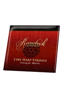 ROOSEBECK LYRE HARP 16-STRING SET - LOOP END