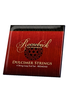 Roosebeck Mountain Dulcimer 4-String Set, Loop