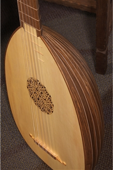 Roosebeck 6 Course Lute Walnut